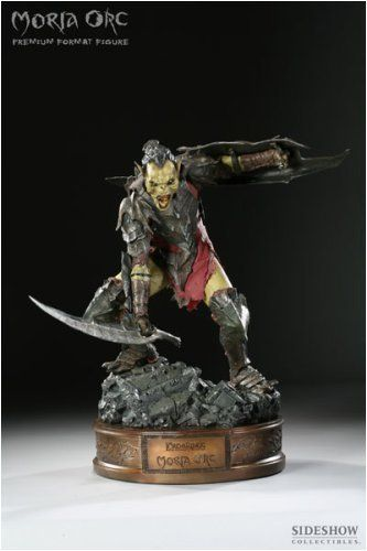 Moria Orc Premium Format Figure Lord of the Rings by Sideshow. $1000.00