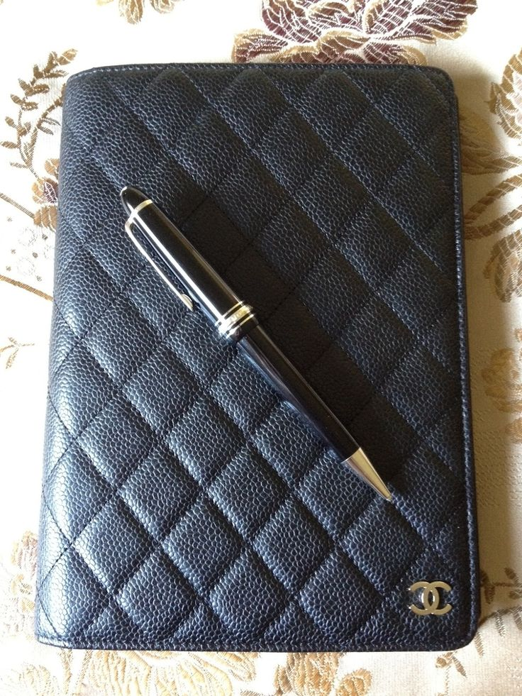 Chanel agenda planner. One of my most coveted things right now. I don't even care if its a Knockoff. Tee hee