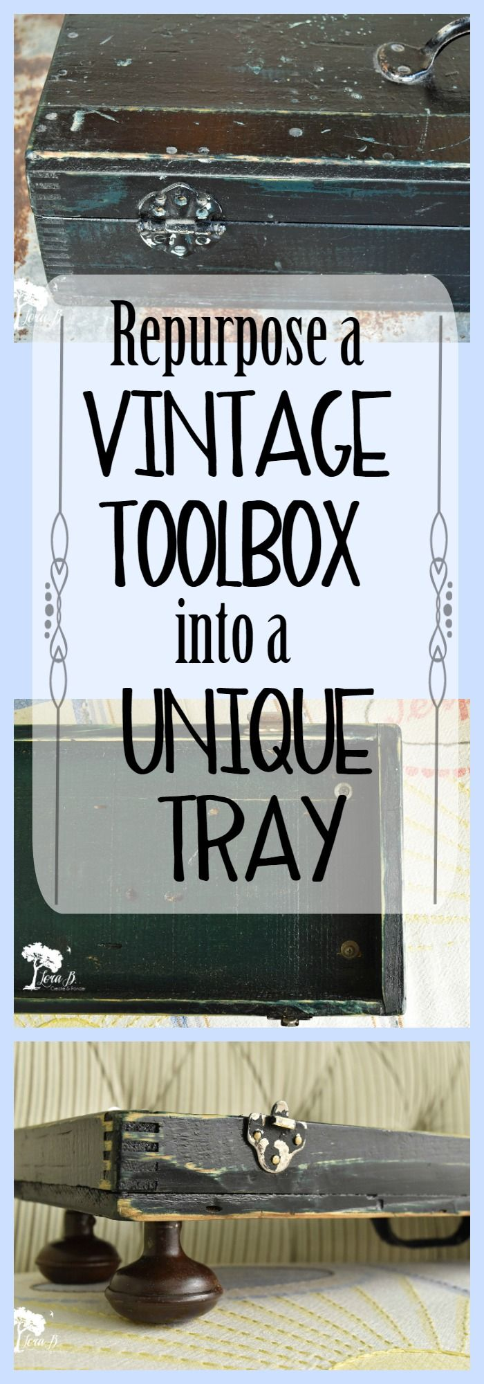 246 Best Junk Transformation Images On Pinterest Upcycling Repurposed Circuit Boards Recycled Board Clipboards Re Purpose An Old Toolbox Into Interesting Junky Tray