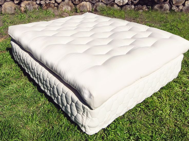The 8 Inch Teddy Bear Mattress Natural Wool By Futon Is One Of Most Affordable Chemical Free