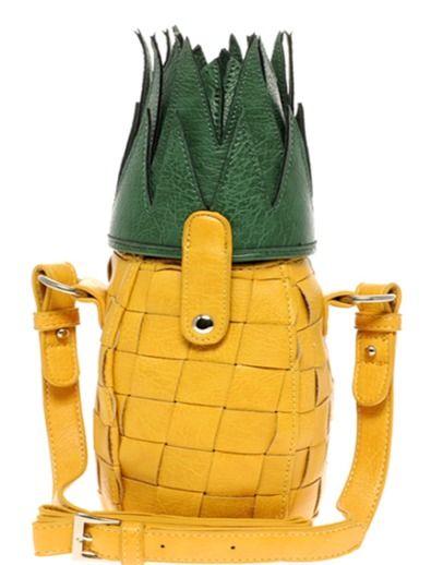 pineapple purse ASOS Pineapple Bag
