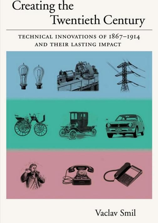 Creating the twentieth century : technical innovations of 1867-1914 and their lasting impact. (PRINT VERSION) Available from the Port of Spain Library.  This book takes a close look at four fundamental classes of these epoch-making innovations: formation, diffusion, and standardization of electric systems; invention and rapid adoption of internal combustion engines; the unprecedented pace of new chemical syntheses and material substitutions; and the birth of a new information age.