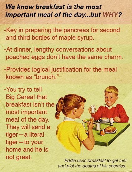 Is Breakfast Really Your Most Important Meal?