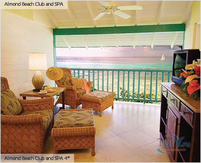 Барбадос, Сент-Джеймс, Almond Beach Club and SPA 4* Almond Beach Club and SPA 4*