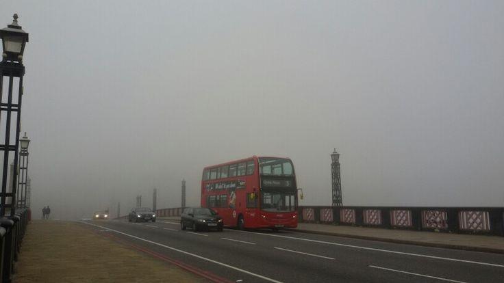 Una tipica giornata londinese