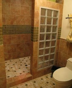 Awesome Bathroom Design : Ceramic Tiles Toilet Shower Only Walk In Shower Designs  For Small Bathroom To