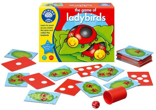 [PnP] ORCHARD TOYS The game of ladybirds (Игра божьих коровок) 3+