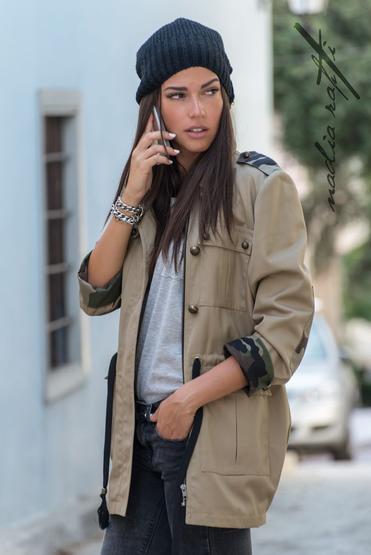 Militarily jacket , by nadia rapti