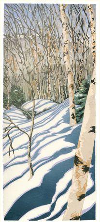 Snow On Cannon Mountain: Matt Brown.