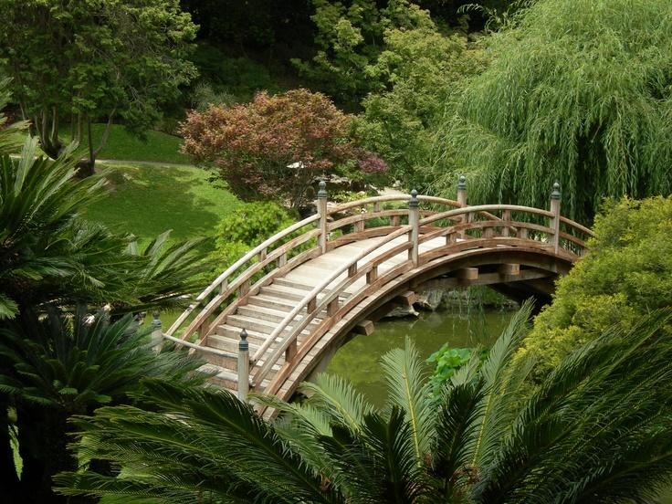 The Huntington, San Marino, CA. Beautiful garden, and bonus: Pinkie and Blue Boy