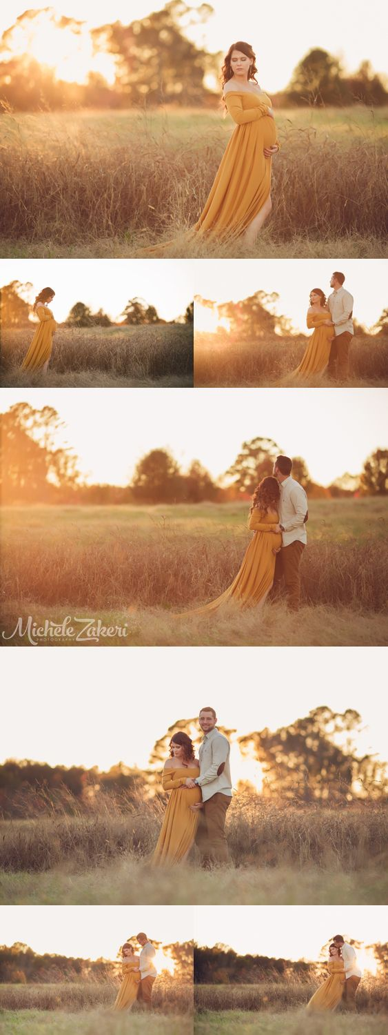 MaternitySessionFallSunsetMaternity Photographer Fall Maternity Session Maternity Gown Nash Farm Atlanta Photographer Best Maternity Session Maternity Shoot Ideas