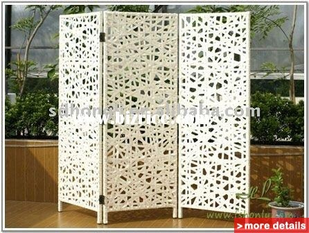 outdoor garden screen, patio screen.