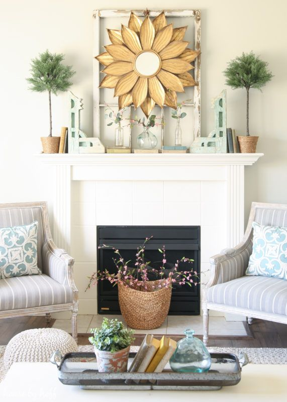 Spring Living Room via House by Hoff