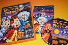 Alvin and the Chipmunks Trick or Treason DVD Halloween Movie Trick or Treat