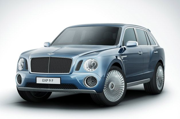 Not this one... Bentley EXP 9 F concept