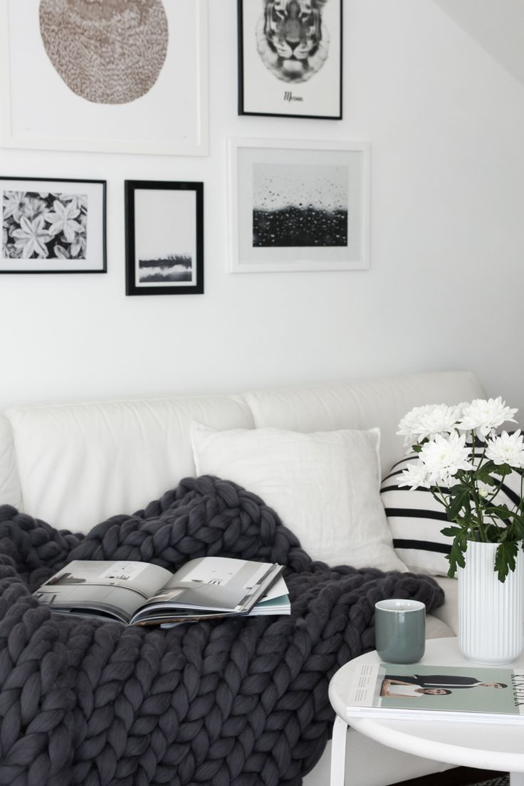 Gray days solution: A new throw blanket! | Ashley Lauren Design Studio