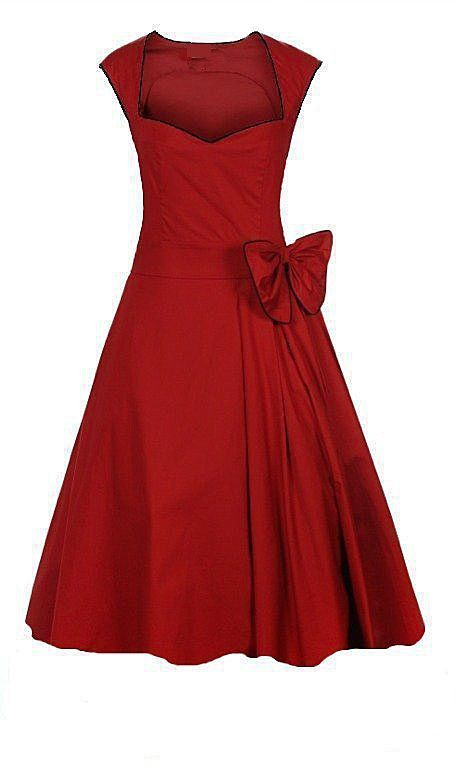 FREE SHIPPING prom evening party dress plus size stretch cotton rockabilly pinup clothes long women's clubwear dance black red $32.00