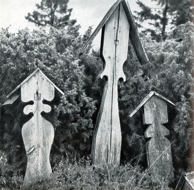 Кладбище в селе Шуерецкое (Карелия)
