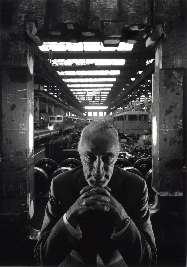 Arnold Newman had a lot of courage taking this picture. So much respect. Alfred Krupp, 1963 © Arnold Newman