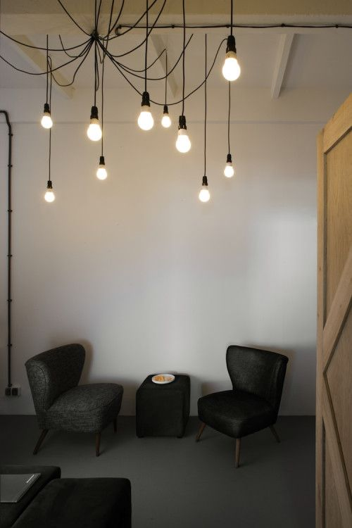PAGI is a minimalist interior located in Kraków, Poland, designed by Morpho Studio. The industrial character of the Zabłocie district goes b...