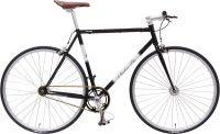 Das Checker Pig Classic Track mit seinem hochwertigen CroMo Rahmen und seiner tollen Optik. Das Aussehen eines Klassikers aus vergangenen Tagen, aber mit Bauteilen von heute. So könnte man dieses Fahrrad beschreiben. Ein Singlespeed wie es im Buche steht, gemacht für die Häuserschluchten unserer Städte. Für den Fahrkomfort sorgen die Flip- Flop Nabe, die schönen Pedale mit Haken und Riemen und zur Sicherheit Vorder- und Hinterbremse!