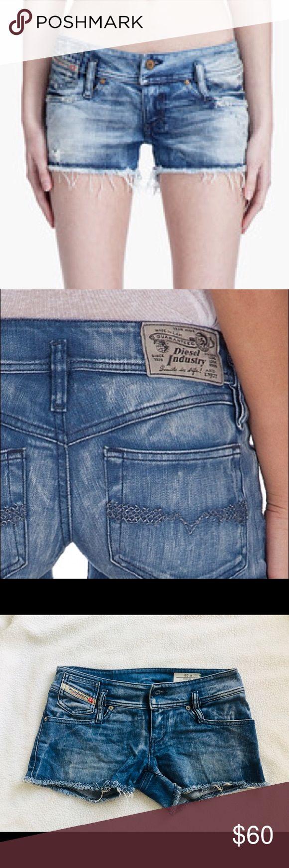 Diesel Mintha Denim Shorts size 26 Diesel Mintha Shorts  Made in Italy  Size 26  Stretch Diesel Shorts Jean Shorts