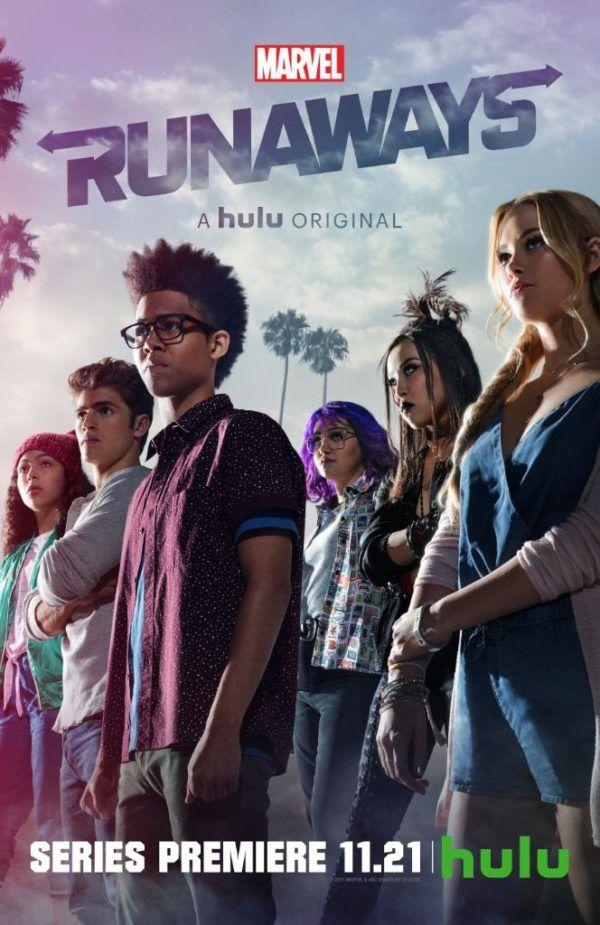 Marvel S Runaways Season One Runaways Marvel Streaming Tv Shows Top Tv Shows