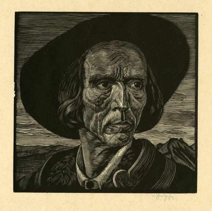 Władysław Skoczylas, woodcut