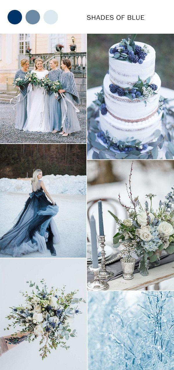 Top 10 Winter Wedding Color Ideas for 2019 & 2020 Winter