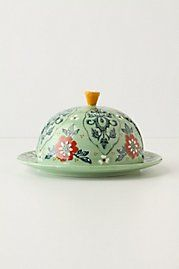 Karvina Butter Dish - anthro - I don't really need a butter dish but this is adorable... 15
