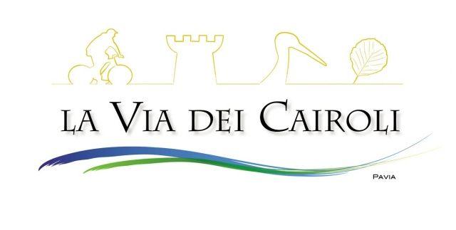 Logo (Grafica di Diego Fregolent) del Programma Territoriale La Via dei Cairoli dell'Associazione Uomo e Territorio Pro Natura