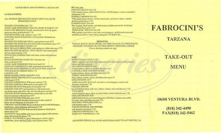 Fabrocini's Italian Kitchen - Delicious!!!!