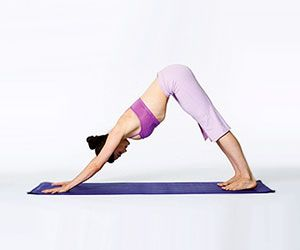 New to yoga? Try these basic yoga poses to get stronger and more flexible~  Downward Dog