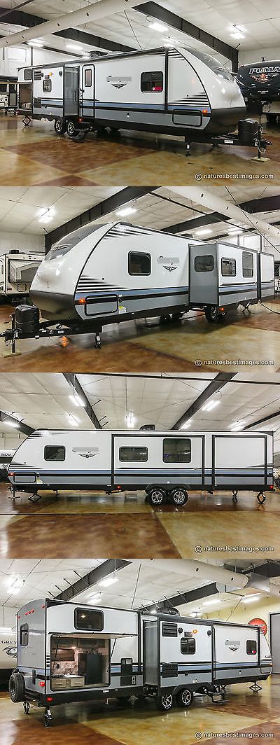 rvs: New 2018 322Bhle Bunkhouse Travel Trailer Bunks And Outdoor Kitchen Never Used -> BUY IT NOW ONLY: $28999 on eBay!
