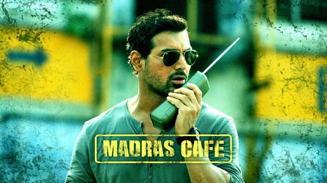 Political, tense, finally explosive..Madras Cafe's true star..- #TOI ★★★★  #NowShowing before anywhere else exclusively on #ErosNow ► http://erosnow.com/#!/movie/watch/1005278/madras-cafe