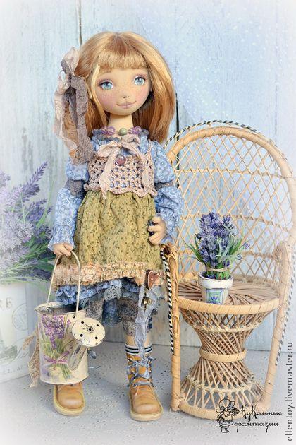 """Текстильная кукла. Автор: """"Селения"""" Елена Негороженко"""