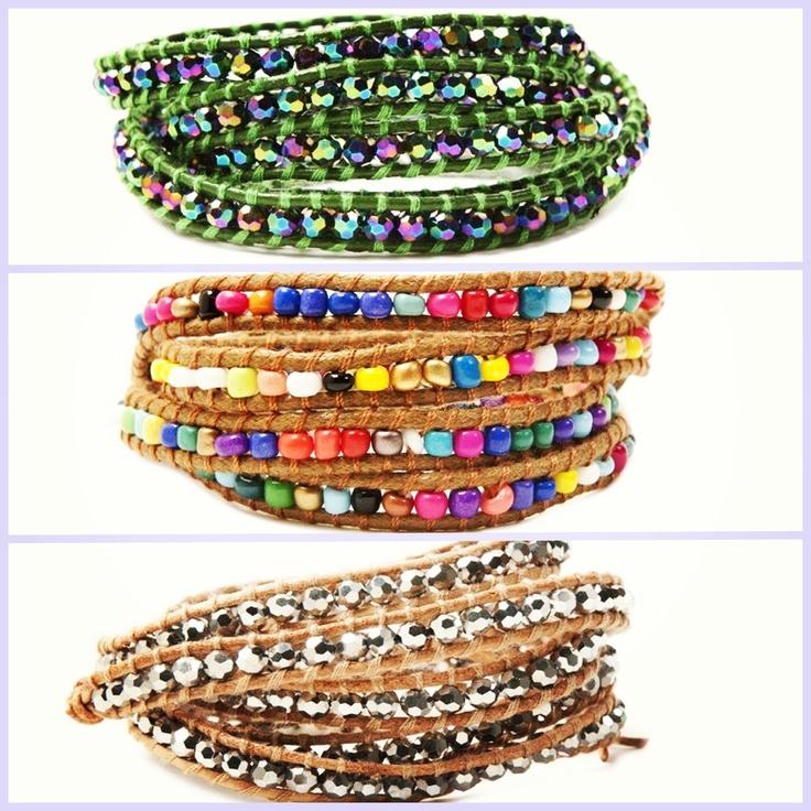 Chip & Chip's five-wrap bracelets are a fashion set favorite!!