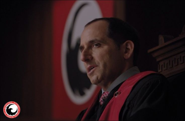 Transitional Authority LA Bloc Proxy Governor Alan Snyder in USA's HIT SHOW Colony. Proxy Snyder is my absolute favorite on the show. Peter Jacobson of House does such an awesome portrayal of Proxy Snyder. Screenshot from the episode Geronimo. #Colony #ColonyUSA #ProxySnyder #AlanSnyder #TransitionalAuthority #Collaborate #ScienceFiction #USANetwork