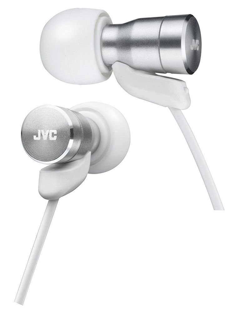 Amazon.com: JVC Victor In-ear Stereo Headphones | HA-FXD60-W White (Japanese Import): Home Audio & Theater