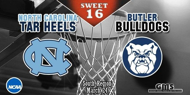 Watch March Madness 2017 North Carolina vs Butler live stream NCAA sweet sixteen basketball game online TV. UNC vs Butler. Butler vs North Carolina live stream
