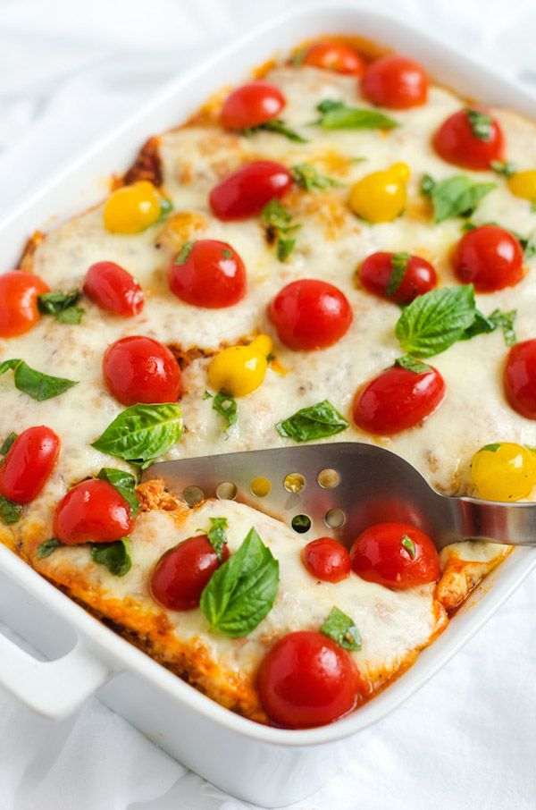 Italian Baked Quinoa with Fresh Tomato Topping
