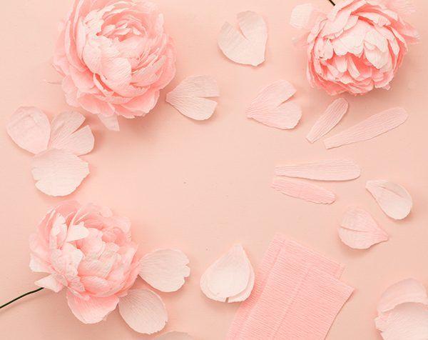 DIY Paper Peony Bouquet http://ruffledblog.com/diy-paper-peony-bouquet