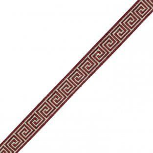 "5/8"" Aristotle Greek Key in Beaujolais 