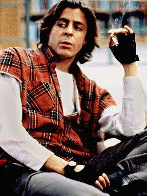 John Bender in Breakfast Club, played by Judd Nelson. I can't help but love the bad boy!