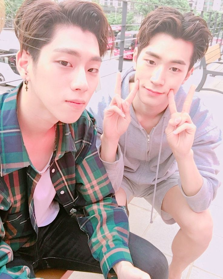 Youjin & Seungjun - do they ever take a bad picture!?  #KNK #크나큰 #Youjin…