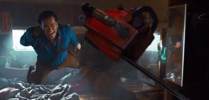 Ash vs. evil dead trailer omg, YES!