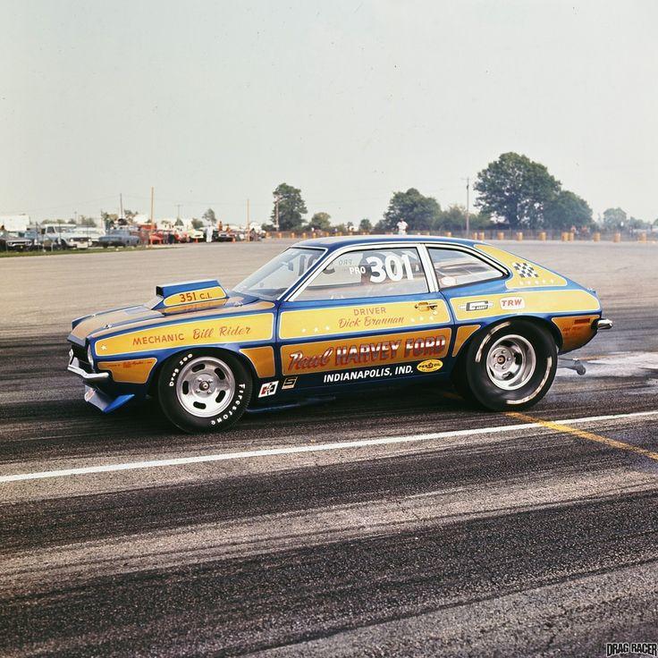Photos Of Dick Brannan Mustang Drag Cars