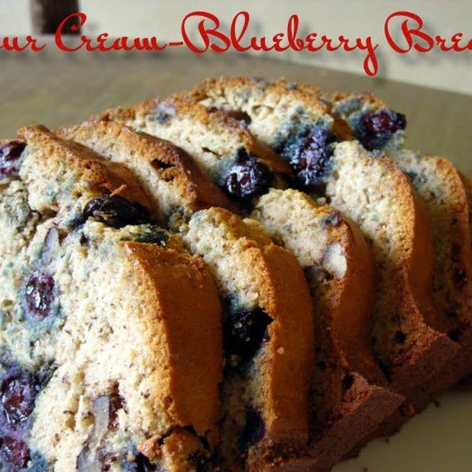 Sour Cream Blueberry Zucchini Bread Recipe Yummly Recipe Blueberry Zucchini Bread Recipes Sour Cream