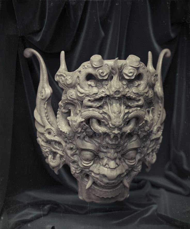 The mask, Zhelong XU on ArtStation at http://www.artstation.com/artwork/the-mask