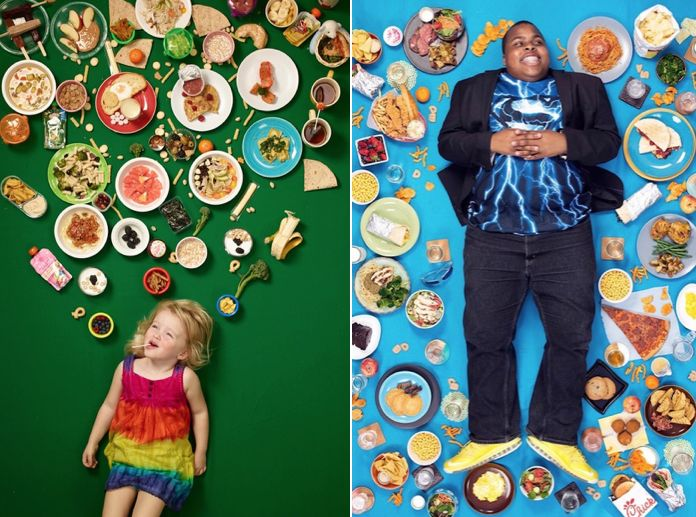 Smart and Funny Pictures from Daily Bread Project  Gregg Segal uses photography to talk smartly and efficiently about some important social issues such as consumerism. In his Daily Bread project he captures children surrounded by food in order to denounce the chaotique relationship they have with alimentation. Daily Breads goal is to talk about how to improve our way to educate children to eat healthier.         #xemtvhay